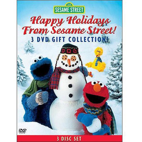 Happy Holidays From Sesame Street!: Elmo's World: Happy Holidays   Elmo Saves Christmas   Christmas Eve On... by SONY CORP