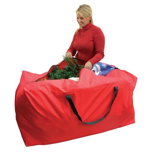 "48.5"" Multi-Use Large Holiday Storage Bag - For Garlands, Trees, Lights, Inflatables and More"