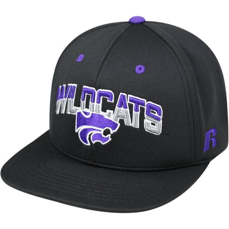 University Of Kansas State Wildcats Flatbill Baseball Cap State University Scrub Cap