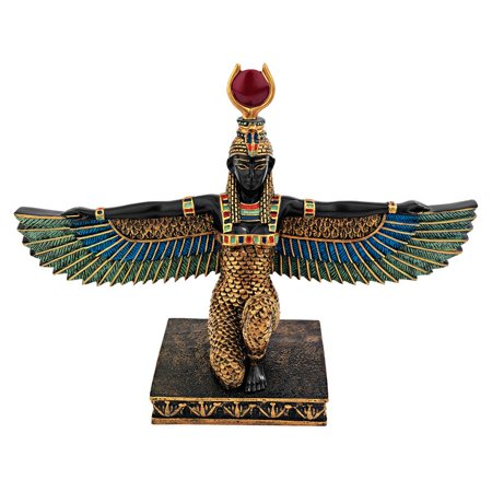 Design Toscano Isis, Egyptian Goddess of Beauty Statue