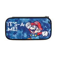 PDP Nintendo Switch Camo Slim Travel Case Super Mario Bros Mario Edition, 500-104