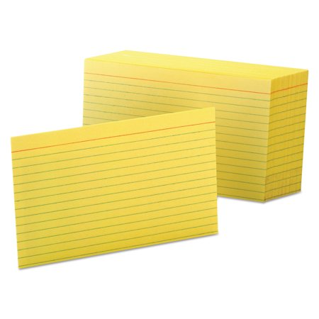 Colored Ruled Index Cards - Esselte Colored Blank Index Cards
