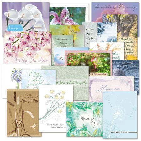 Mega sympathy greeting card value pack set of 40 walmart mega sympathy greeting card value pack set of 40 m4hsunfo