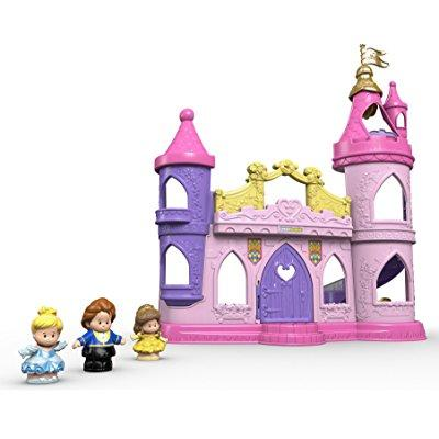 Fisher Price little people disney princess musical dancin...