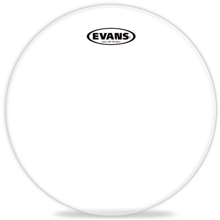 "Evans 13/"" Glass 500 Snare Side Drum Head"
