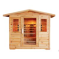 Cayenne 4-Person Outdoor Sauna
