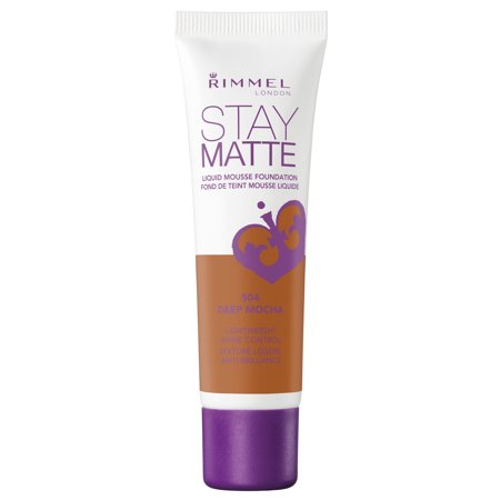 Deep Matte (Rimmel Stay Matte Foundation, Deep Mocha)