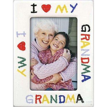 I Love Grandma Drawing Frame Walmartcom