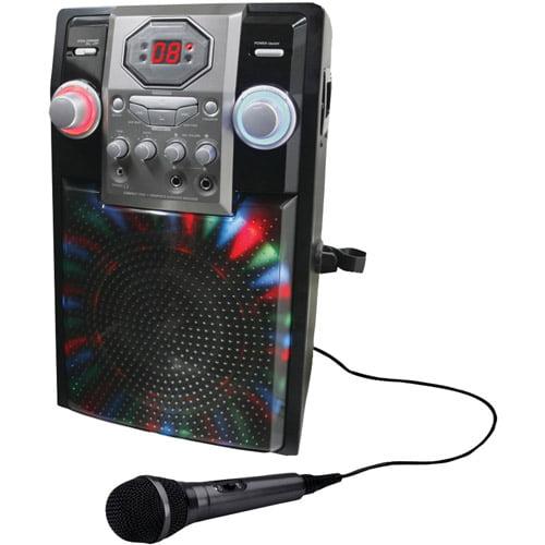 GPX J182B Portable Karaoke Player