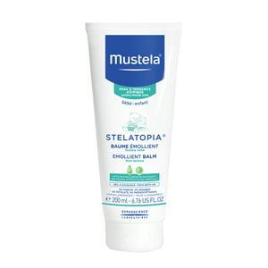 Mustela Stelatopia Baby Emollient Balm, Eczema-Prone Skin, 6.7 Oz