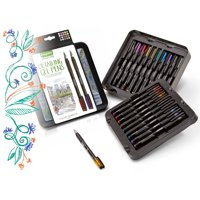 Crayola Signature Detailing Gel Pens Set, Gift - 20 Count
