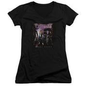 Cinderella Night Songs Juniors V-Neck Shirt