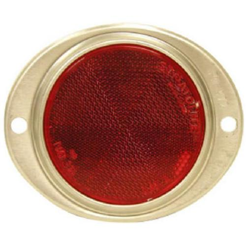 Tiger Accessory Group T888BR Reflector, Red, 3-In.