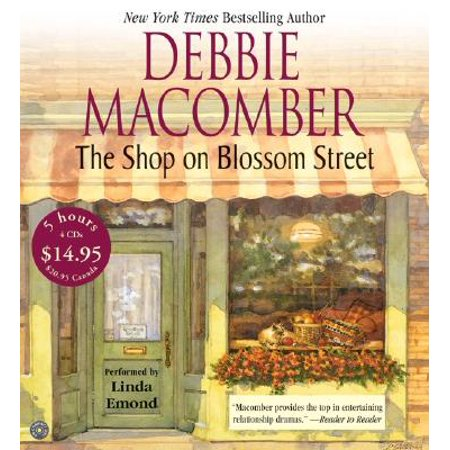 Blossom Street Books: The Shop on Blossom Street CD Low Price (Audiobook) (Low Price Shopping Sites)