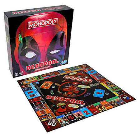 Anniversary Collectors Edition Monopoly - Hasbro Monopoly Deadpool Collector's Edition Board Game