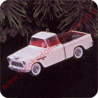 Hallmark Ornament 1996 All American Trucks #2 - 1955 Chevy Cameo