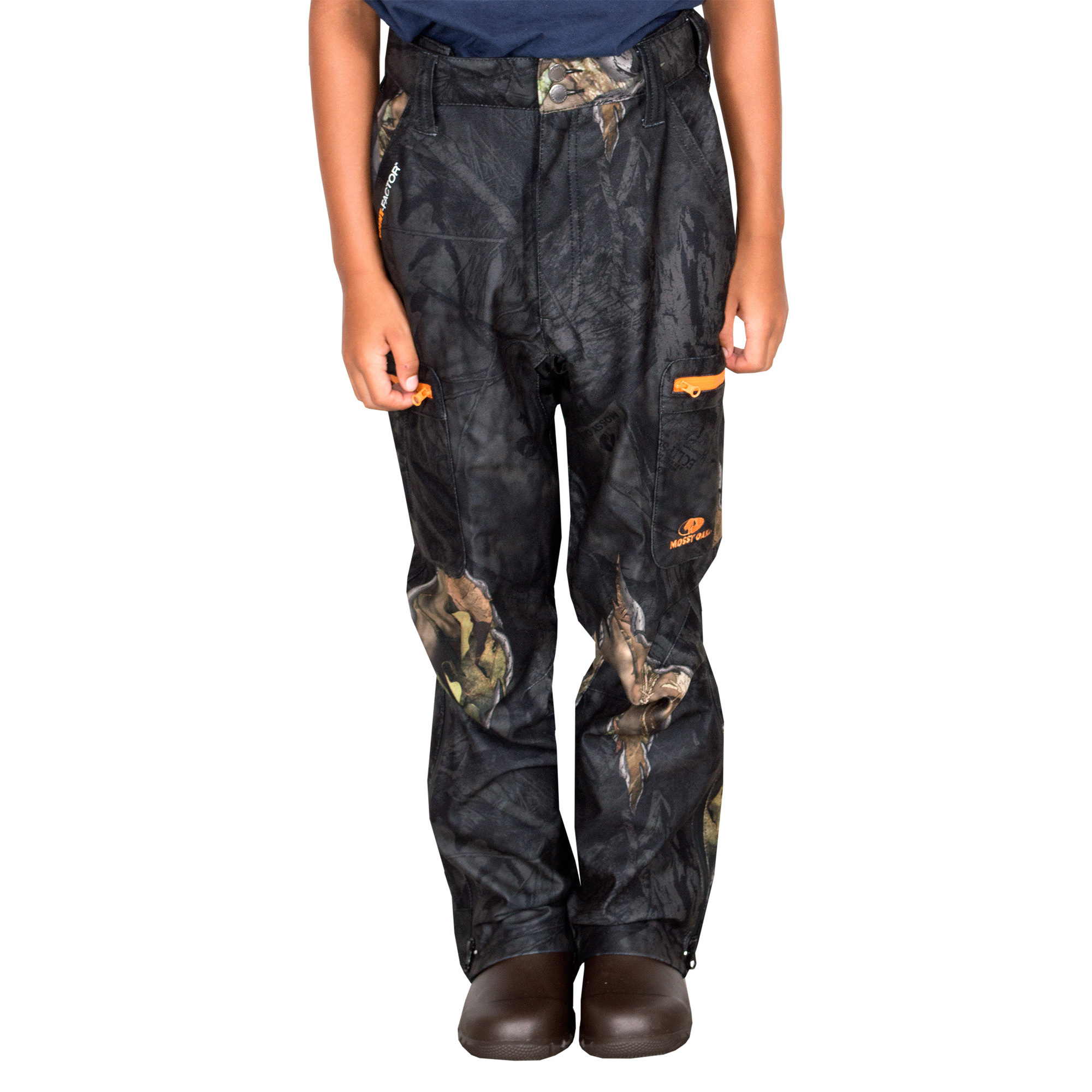 Youth Scent Control Pants Mossy Oak Eclipse by Mahco Inc