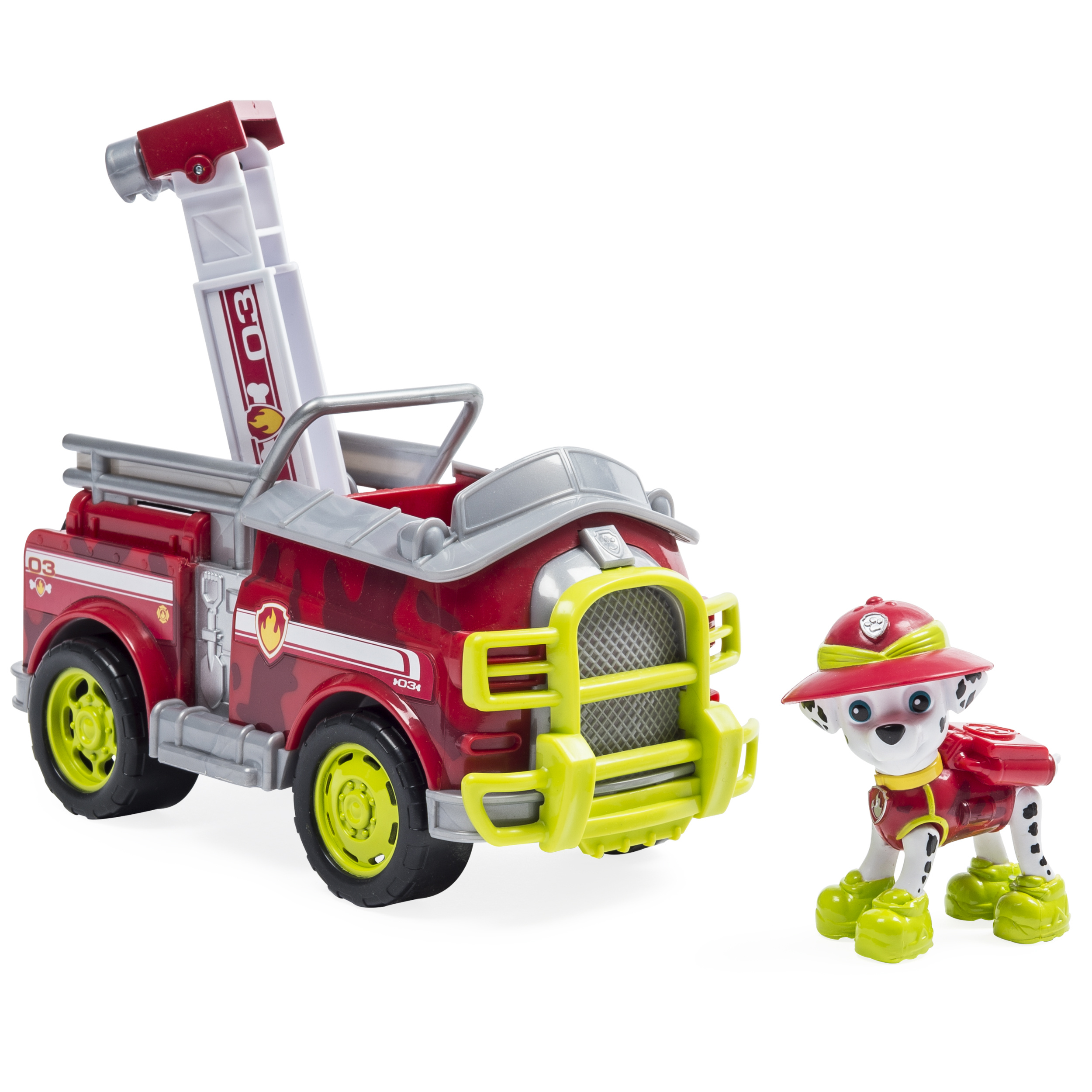 Paw Patrol - Jungle Rescue - Marshall���s Jungle Truck