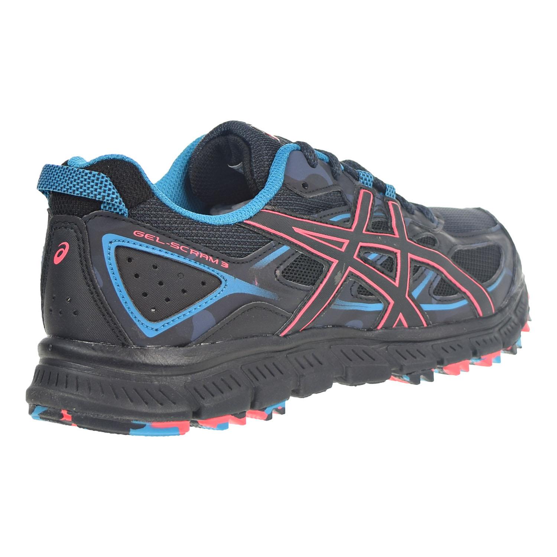 new arrival 9bebf 2a4ff Asics Gel Scram 3 Women's Shoes Anthracite/Black/Columbia Sea t6k7n-9099