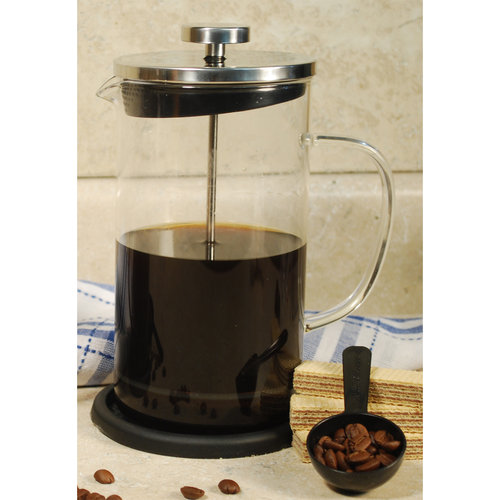 Cookpro 681 Coffee Plunger 8Cup Coaster Heat Resistant Glass