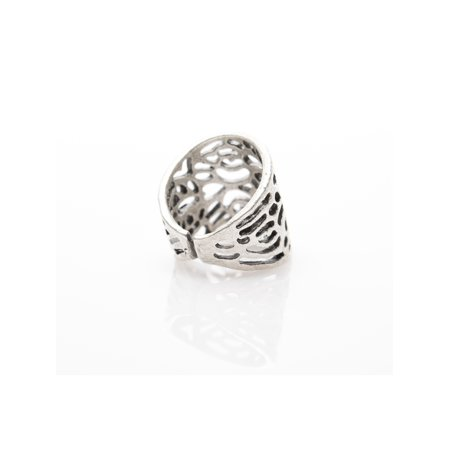 Antique Silverplate (Antique Silver Plated Adjustable Ring)