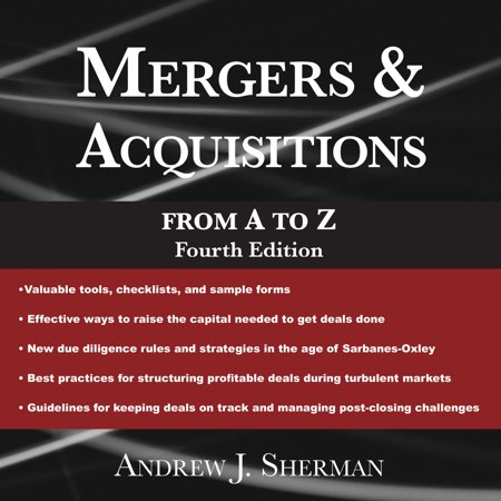 Mergers & Acquisitions from A to Z Fourth Edition -