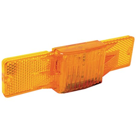 Seachoice Submersible Amber Side Marker Light with Reflector - Lights Amber Reflector