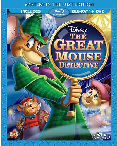 The Great Mouse Detective (Mystery In The Mist Edition) (Blu-ray + DVD)