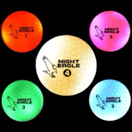 LED Golf Ball Assorted Colors](Assorted Golf Balls)
