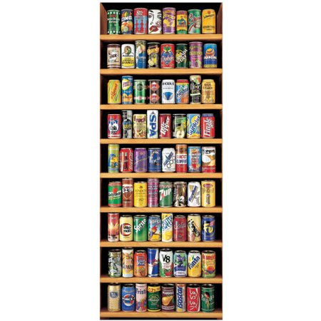Soft Drink Cans Jigsaw Puzzle, 2000