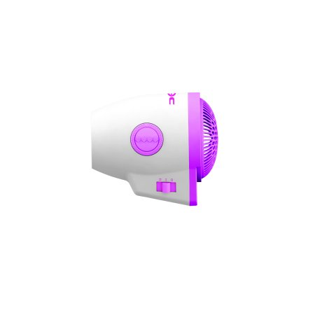 Croc Plug Detachable 800 Watt Mini Hair Dryer, Pink CROCPLUGDWPN