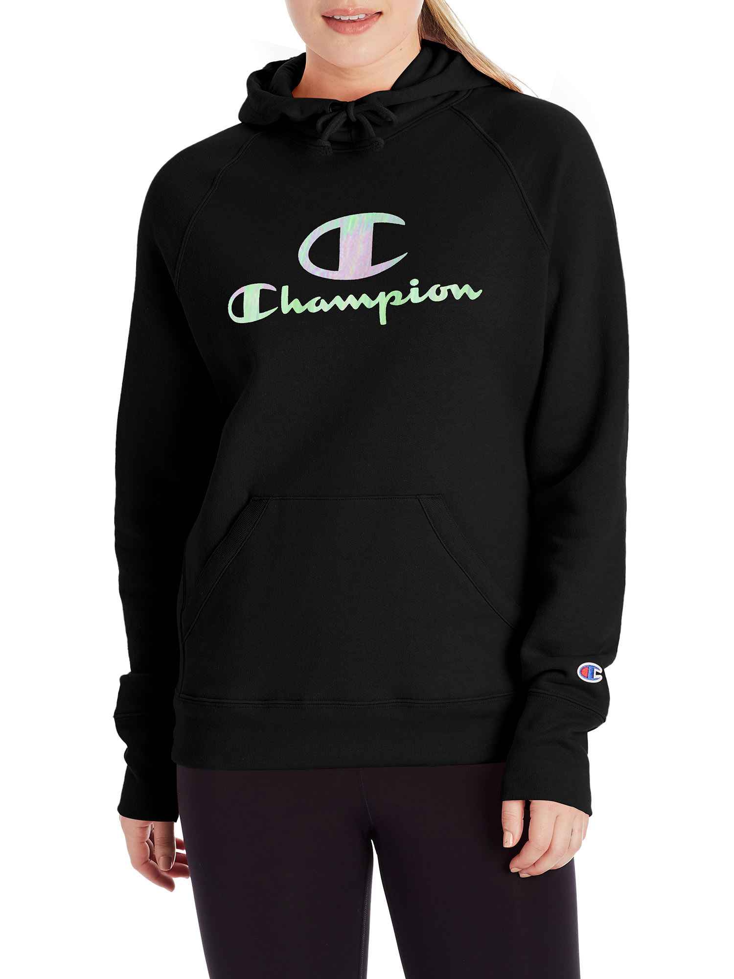 Champion Womens Powerblend Graphic Hoodie
