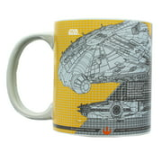 Star Wars Millennium Falcon Tech 20oz Ceramic Mug