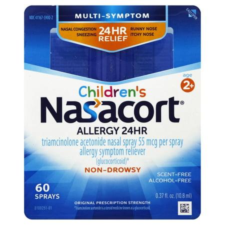 Nasacort Children's Multi-Symptom 24hr Nasal Allergy Relief