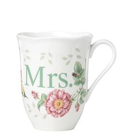 - Lenox Butterfly Meadow Dinnerware Mrs. Mug