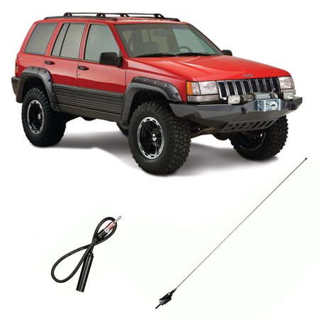 Jeep Grand Cherokee Bullet Stubby Antenna by CravenSpeed ... |Jeep Grand Cherokee Antenna