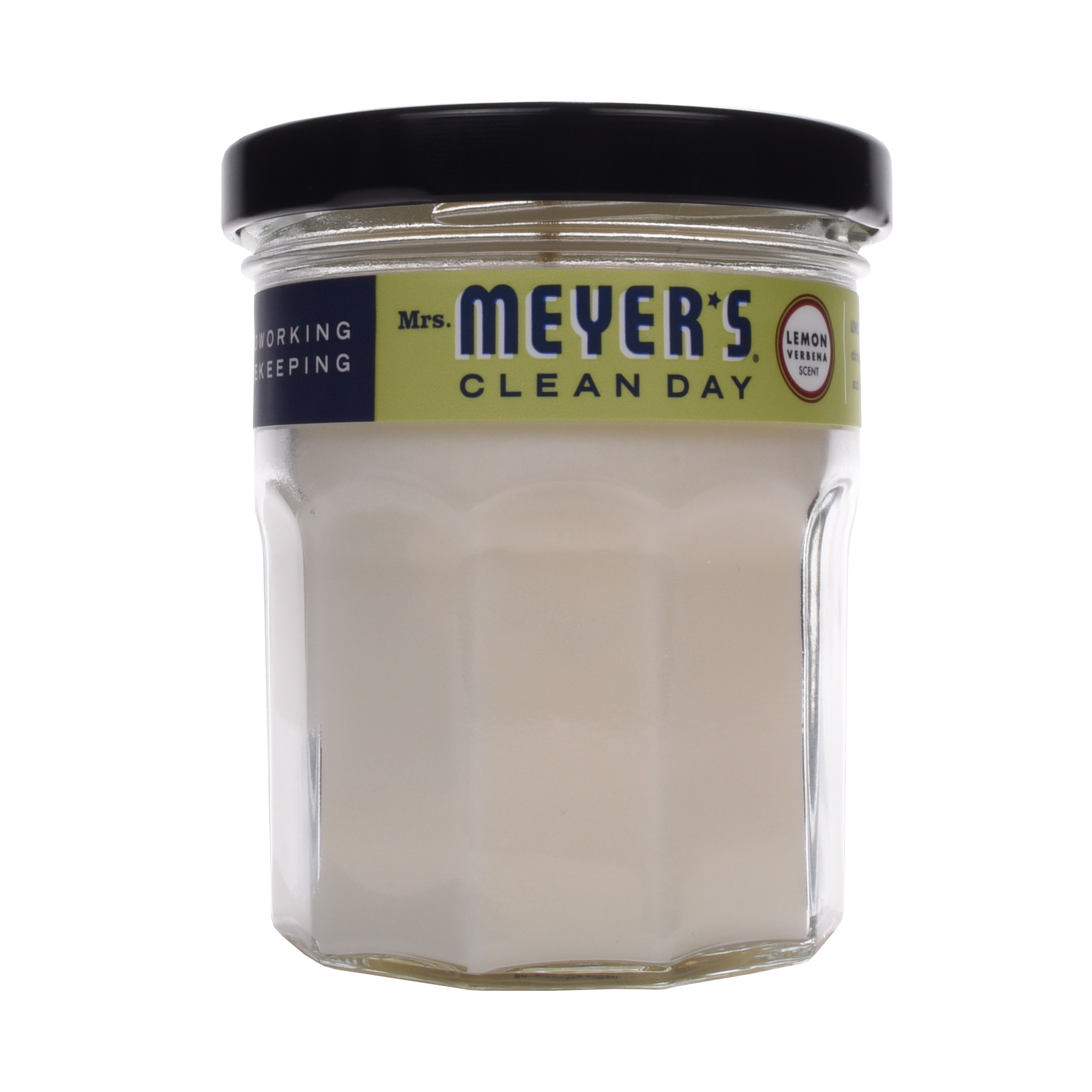 Mrs. Meyer's Clean Day Scented Soy Candle, Lemon Verbena, 4.9 oz by SC Johnson