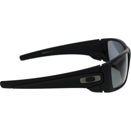 af9897120ece Oakley Men's Polarized Fuel Cell OO9096-05 Black Rectangle Sunglasses -  image 1 ...