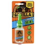 Gorilla Super Glue Clear Gel, 15 Gram