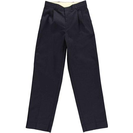 Rifle Big Boys' Husky Basic Pleated Pants (Husky (White Husky With Blue Eyes For Sale)