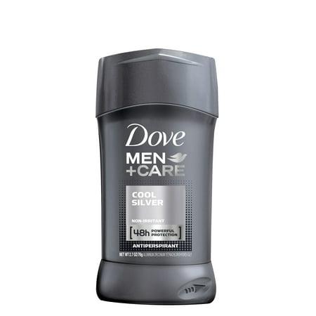 Dove Men+Care Cool Silver Antiperspirant Deodorant Stick, 2.7 oz