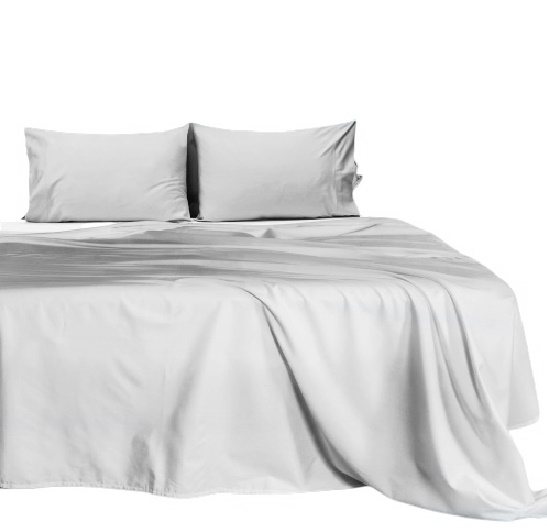 100/% Cotton Sheets 550 Thread Count 4PC Bed Sheet Set King or California King