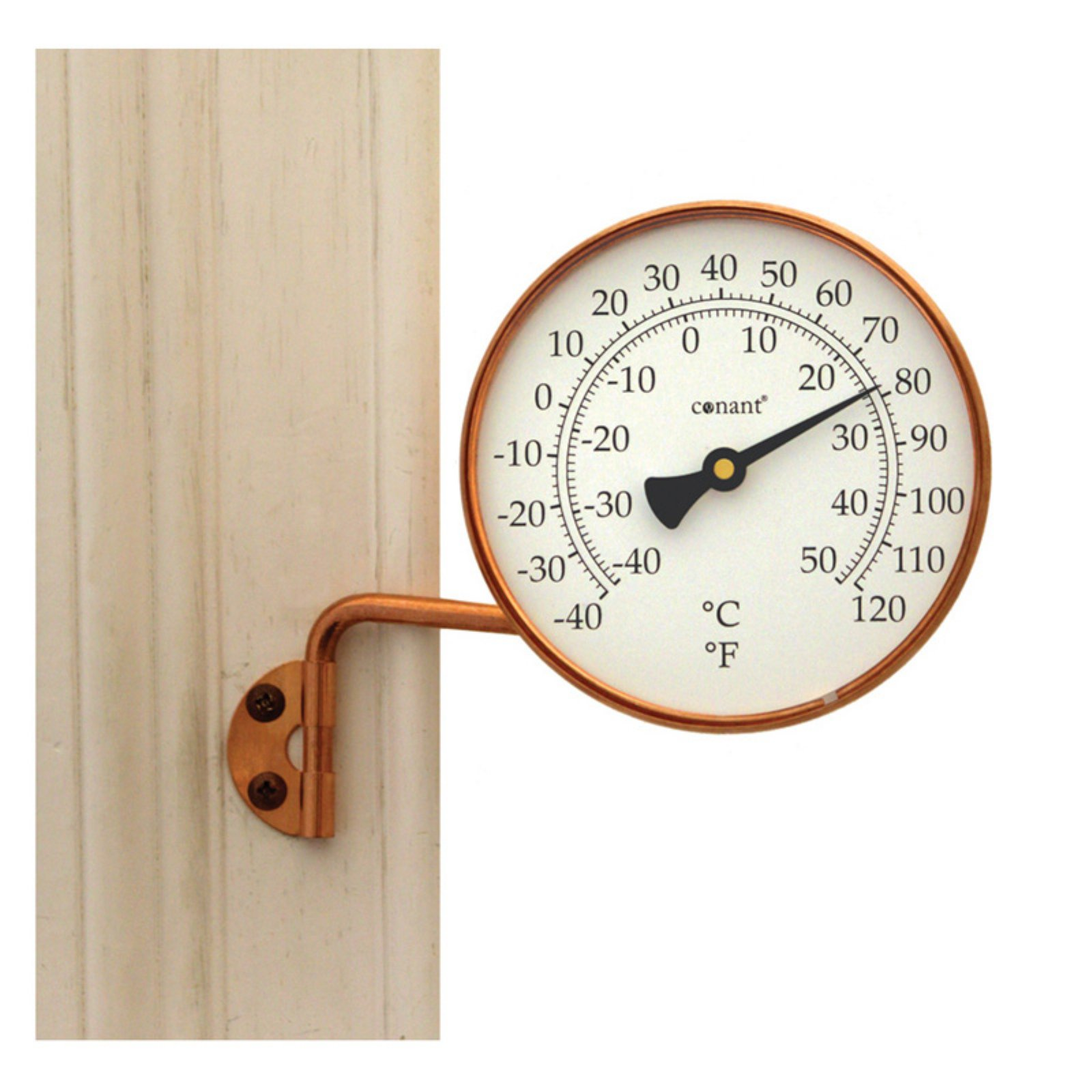 "Conant T6LFC 4.25"" Solid Copper Vermont Dial"