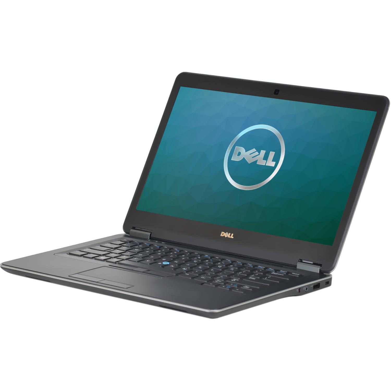 "Refurbished Dell E7440 14"" Laptop, Windows 10 Pro, Intel Core i7-4600U Processor, 8GB RAM, 250GB Solid State Drive"