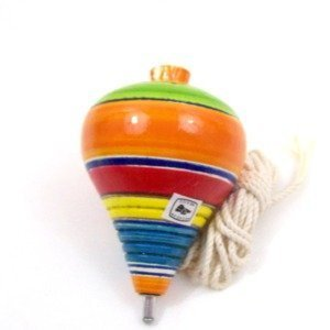Leos Imports Traditional Trompo Mexican Spinning Top