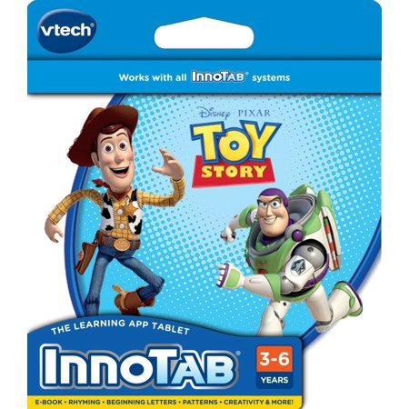 - InnoTab Software - Disney's Toy StoryPlayer's creations may be saved to the InnoTab onboard memory, or SD card (sold separately) By VTech