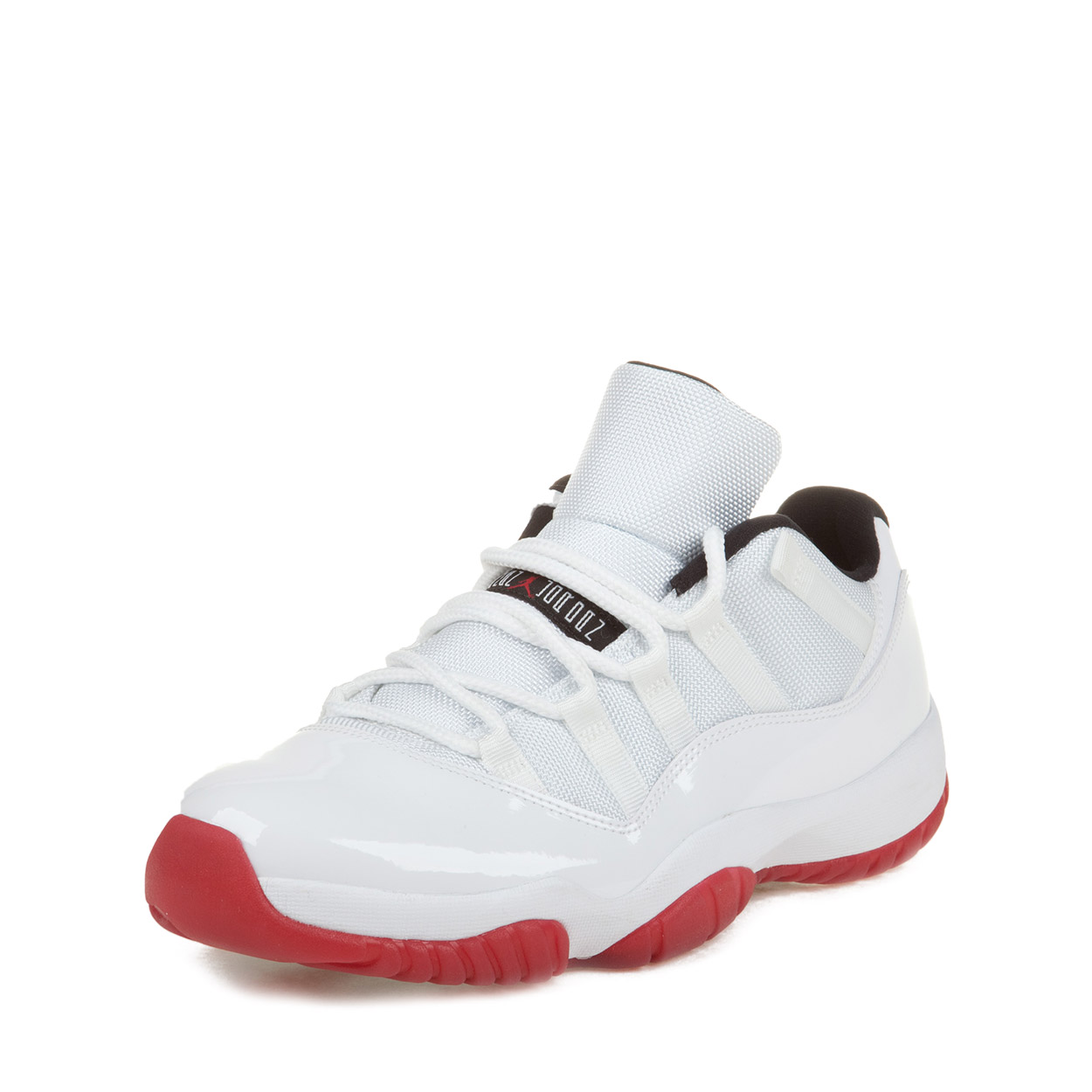 Nike Mens Air Jordan 11 Retro Low u0026quot;Cherryu0026quot; Varsity Red 528895-101 - Walmart.com