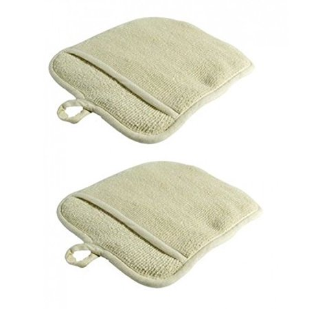 - Large Terry Cloth Pot Holders, W/pocket, Potholders, Oven Mitts, Heat-resistant, Large Terry Cloth By Unknown
