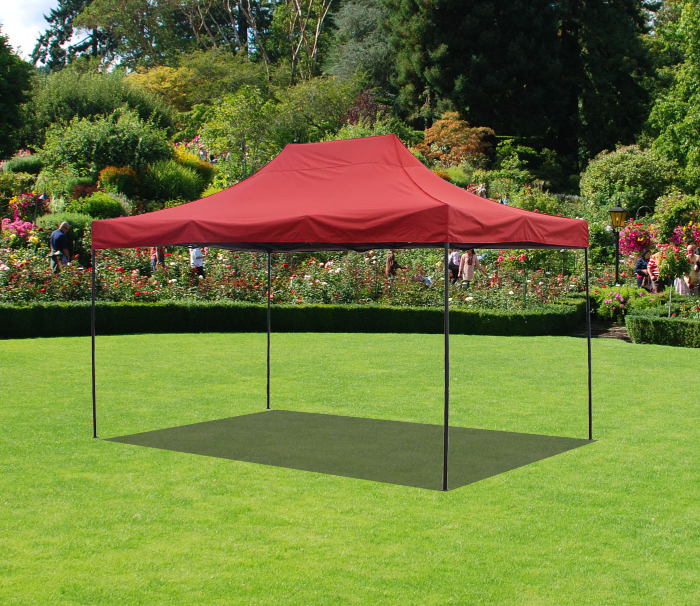 Canopy Tent 10 x 15 Commercial Fair Shelter Car Shelter Wedding Party Easy Pop Up by