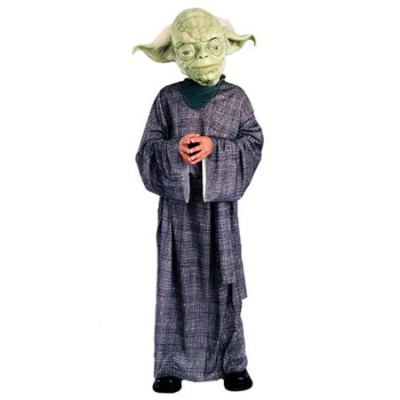 Rubies Costume Co 10601 Star Wars Yoda Deluxe Child Costume Size Medium- Boys 8-10 for $<!---->